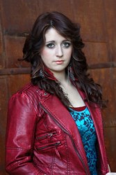 Alexes Aiken Red Leather Jacket
