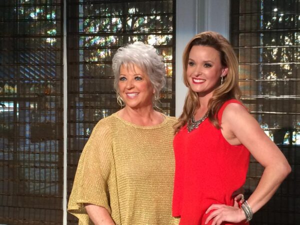 Meghan Shanley and Paula Deen